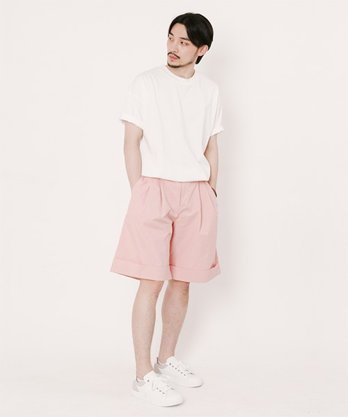 Tommy Turn Up Shorts Pink