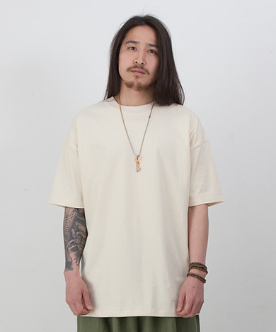 365 Overfit T-Shirts Beige