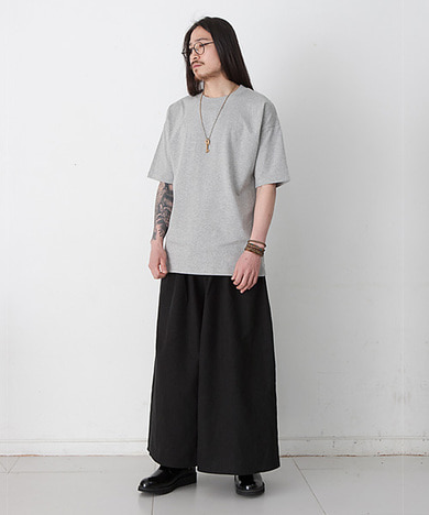 Joy Wide Wide Linen Tall Pants Black