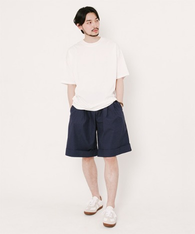 Tommy Turn Up Shorts Navy