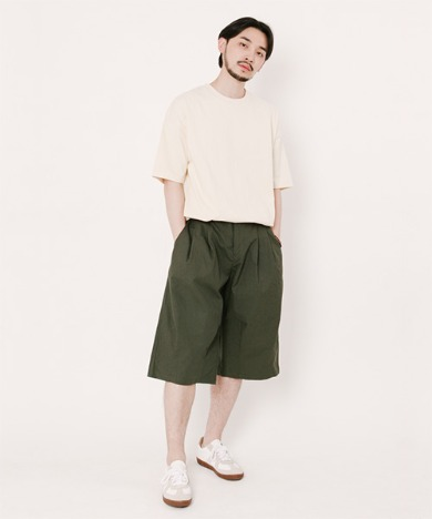 Tommy Balloon Shorts Hunter Green