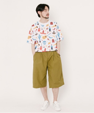 Tommy Balloon Shorts Olive Green