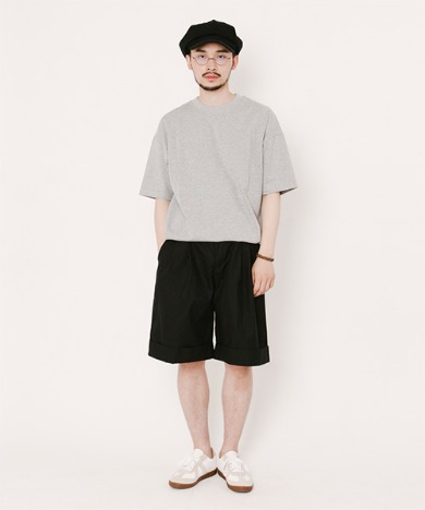 Tommy Turn Up Shorts Black, 어반딕셔너리, [PRODUCT_SEARCH_KEYWORD],